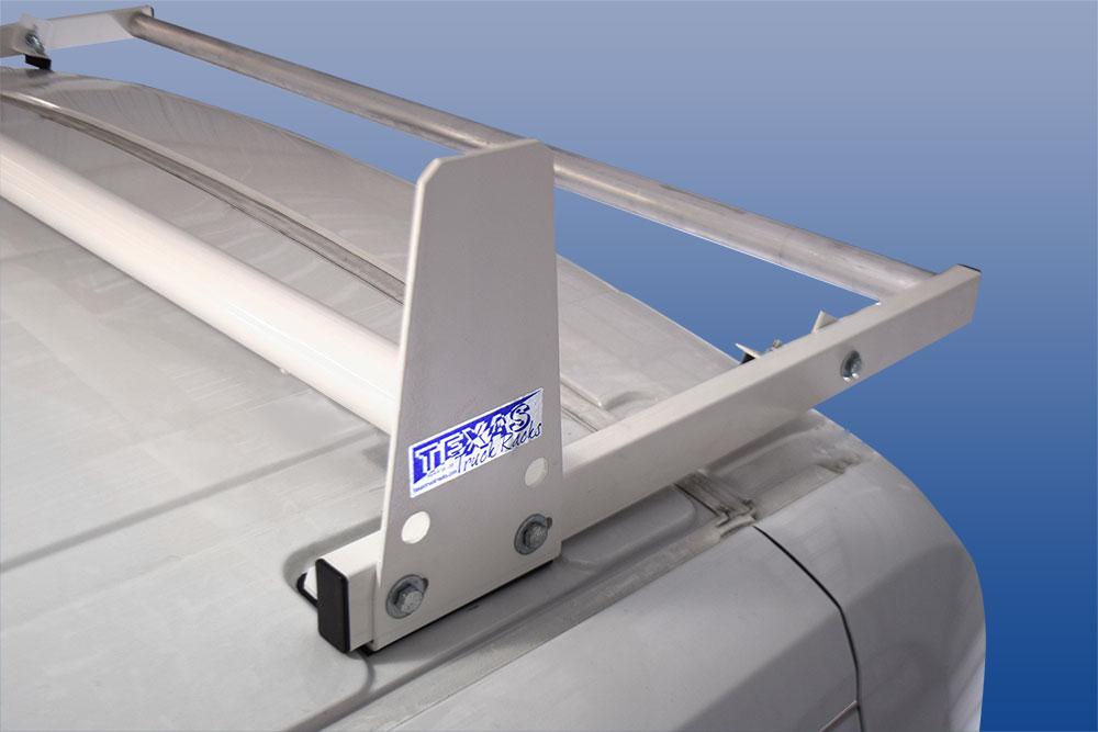 Nissan Cargo Van >> Aluminum 3-Bar Utility Rack w/ Roller | Texas Truck Racks