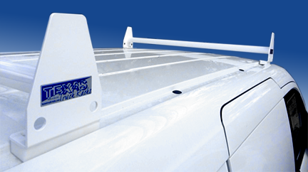 Aluminum 2-Bar Utility Rack | Texas Truck Racks